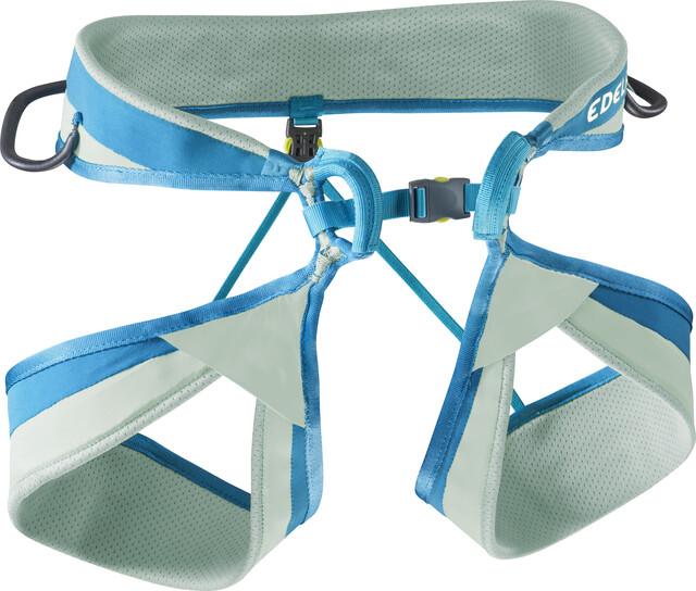 Klettergurt Edelrid Atmosphere : Edelrid loopo ii harness jade petrol campz